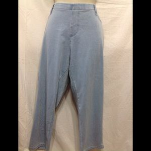 Women's size 20 stretchy denim capris